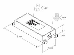 electronic safe and arm device technical single output
