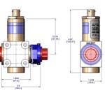 Pyrotechnic valve Envelope